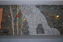 Dekorativna stena iz kamna